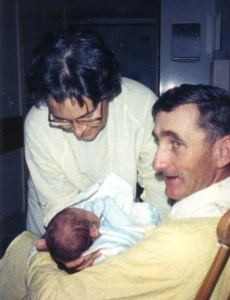 Cliff & Diane with baby Matthew Scott