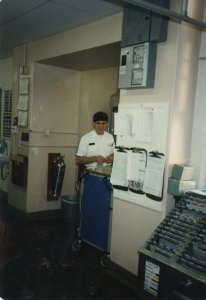 Rusty in the Navy 1985-1987